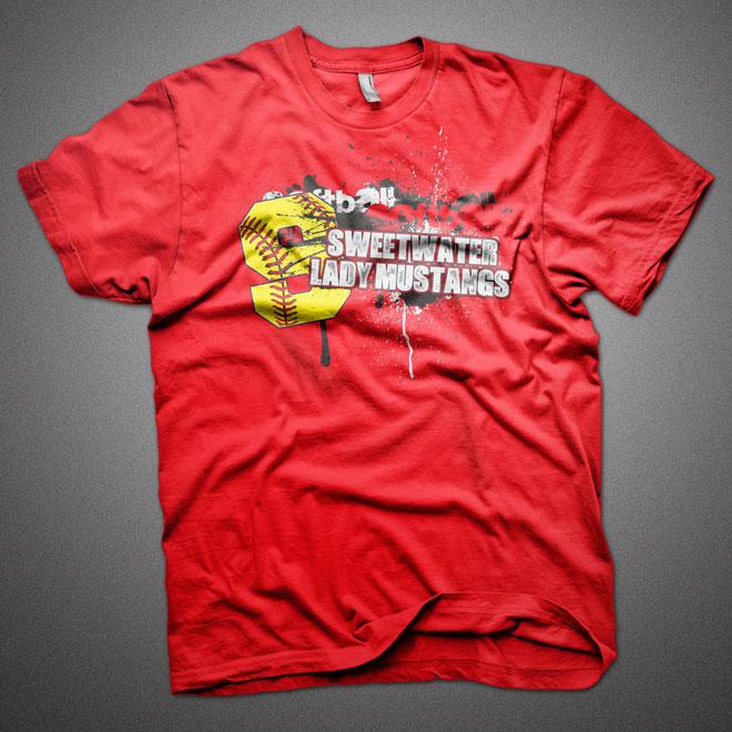 Shs Lady Mustang Softball His Image Designs His Image